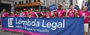 Marching for Equal Rights and Gender Equality with Lambda Legal