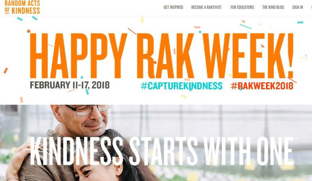 RAK Random Acts of Kindness Foundation