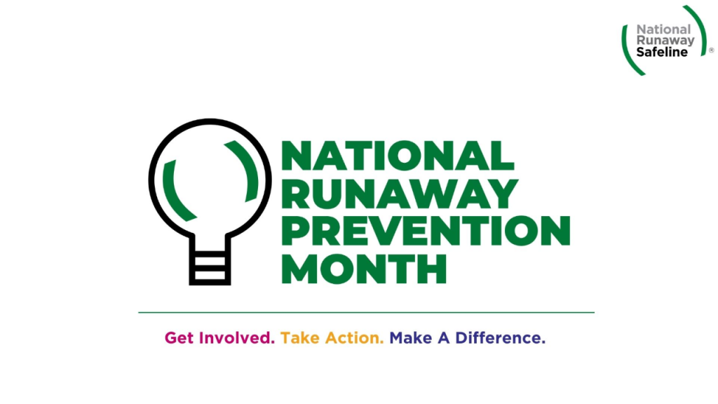 Nation Shines a Light on Runaway and Homeless Youth during National Runaway Prevention Month