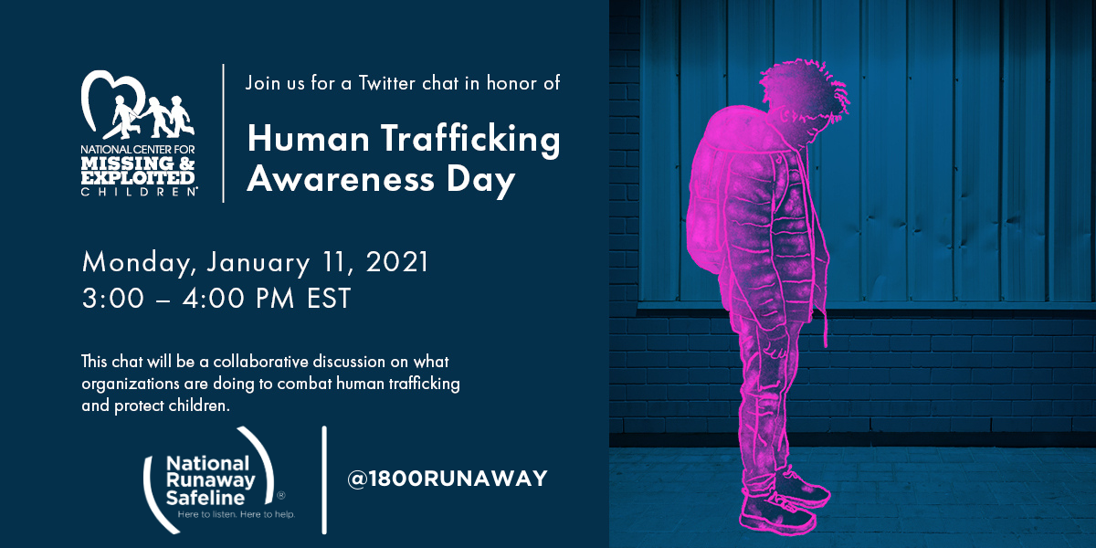 Twitter Chat for Human Trafficking Awareness Day! #HTAD2021