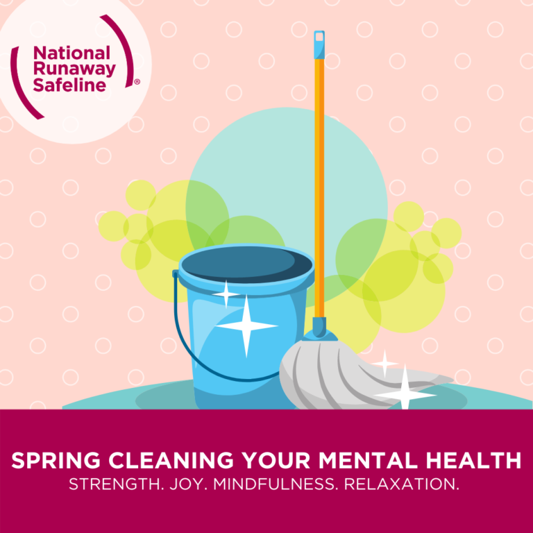 Spring Cleaning Your Mental Health Brain Pink 1